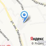 АВТОРЕМ на карте Хабаровска