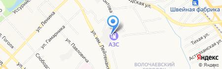 Компания по лицензированию легкового автотранспорта на карте Хабаровска
