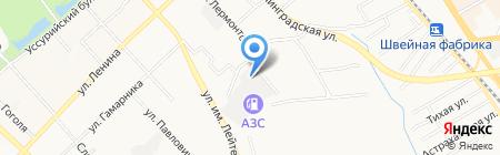 Ситалл Хабаровск на карте Хабаровска
