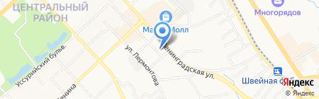 Центр семейного устройства на карте Хабаровска