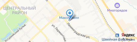 Studio16 на карте Хабаровска