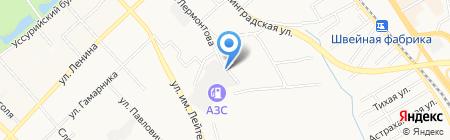 ВиталАвто на карте Хабаровска