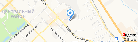 Тепло Гидро Изоляция на карте Хабаровска