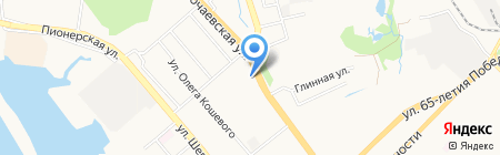 Центр туризма краеведения и спорта на карте Хабаровска