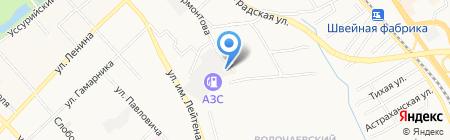 Нейроклиника на карте Хабаровска