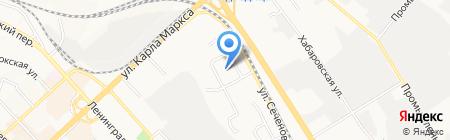 Судебный участок на карте Хабаровска