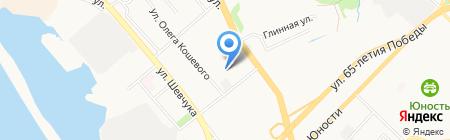 Комплект Кар на карте Хабаровска