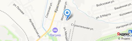 Востокэлектроремонт на карте Хабаровска