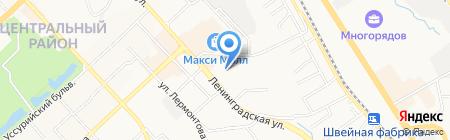 Правовой стандарт на карте Хабаровска