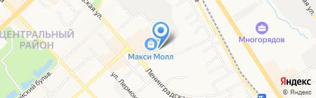 Шиномонтажная мастерская на ул. Рабочий городок на карте Хабаровска