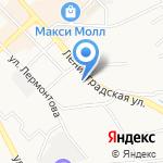 Надежное на карте Хабаровска