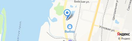 Тойота Центр Хабаровск на карте Хабаровска