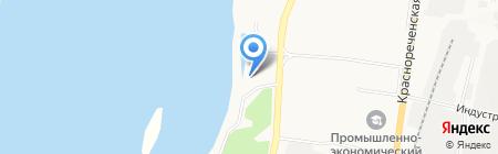 Стройремводоканал на карте Хабаровска