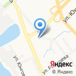 Судебная коллегия по рассмотрению споров на карте Хабаровска