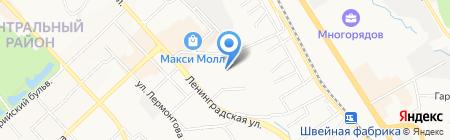 Мир Цвета Неба на карте Хабаровска