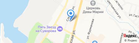 Детская городская клиническая больница №9 на карте Хабаровска