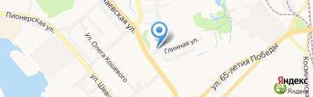 Ренуар на карте Хабаровска