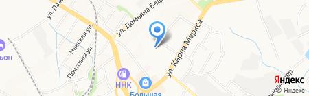 СамСтрой на карте Хабаровска