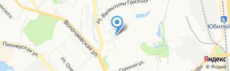 Цех по производству изделий из цемента на карте Хабаровска