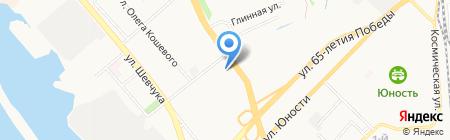 Хабаровский колледж отраслевых технологий и сферы обслуживания на карте Хабаровска