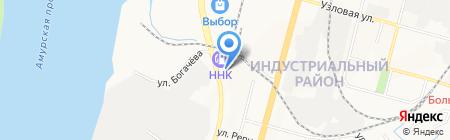 Koonka на карте Хабаровска