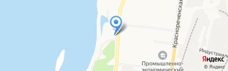 Volkswagen на карте Хабаровска