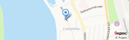Детский сад №24 на карте Хабаровска
