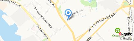 Центр защиты леса на карте Хабаровска