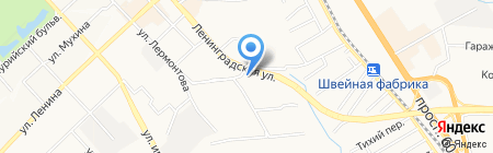 Надёжный на карте Хабаровска