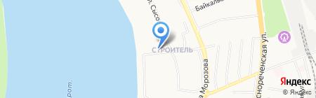 Цветник ДВ на карте Хабаровска