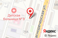 Схема проезда до компании К-Продакшн в Хабаровске