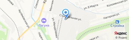 Ферум на карте Хабаровска