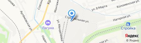 Алютех на карте Хабаровска