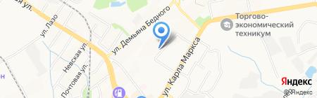 FitCurves на карте Хабаровска
