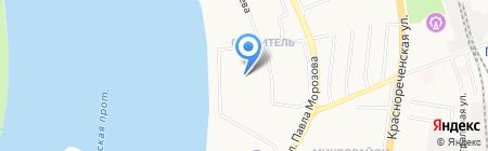 Студия красоты Василия Снежко на карте Хабаровска