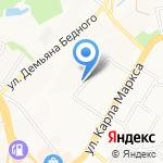 2С на карте Хабаровска
