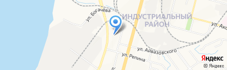 Детский сад №4 на карте Хабаровска