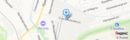 Авто Сафари ДВ на карте Хабаровска