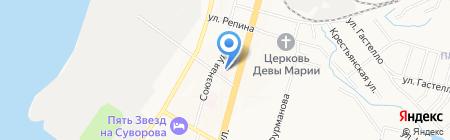 Краевой кожно-венерологический диспансер на карте Хабаровска