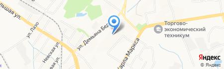 АмурСтройСервис на карте Хабаровска