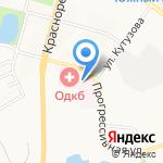 Поликлиника на карте Хабаровска