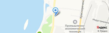 Супермаркет заборов на карте Хабаровска