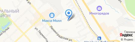 ВостокСтрой на карте Хабаровска
