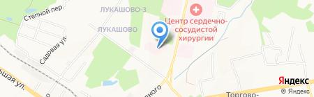 Противотуберкулезный диспансер на карте Хабаровска