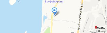 Автокомплекс на карте Хабаровска