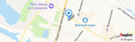 Стекло для вас на карте Хабаровска