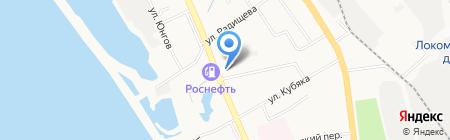 Пластилин на карте Хабаровска