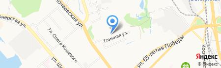 НТ-Холдинг на карте Хабаровска
