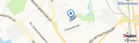 Арсенал на карте Хабаровска