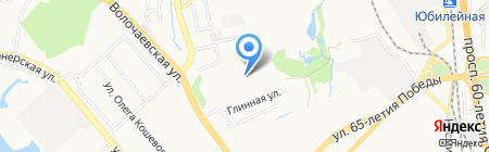 Цвет Диванов на карте Хабаровска